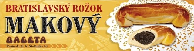 Bratislavský rožok – Mak - 40 g