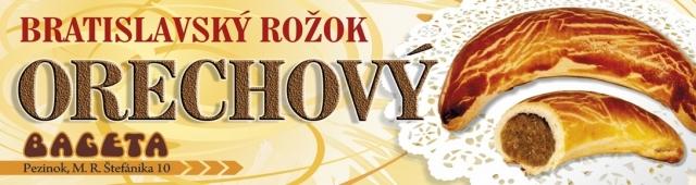Bratislavský rožok - Orech - 40 g