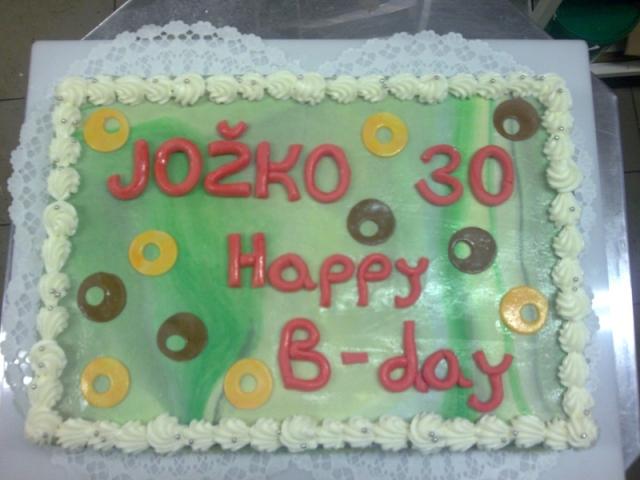 Obdĺžniková torta 15