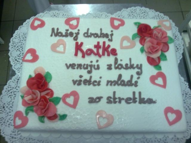 Obdĺžniková torta 16