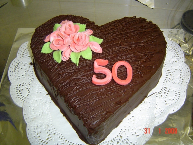 Srdiečková torta 1