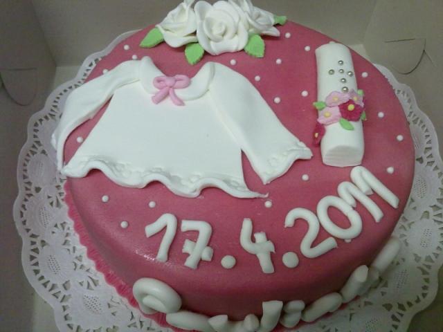 Torta na krst 14