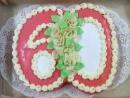 Torta v tvare čísla 4
