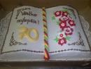 Torta v tvare knihy 1