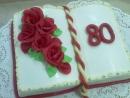 Torta v tvare knihy 10