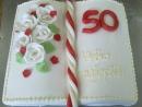 Torta v tvare knihy 5