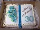 Torta v tvare knihy 9