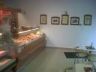 Pult s čerstvými pekárenskými výrobkami