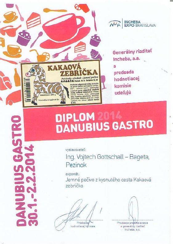 Vystava Danubius Gastro 2014 - Bageta Pezinok