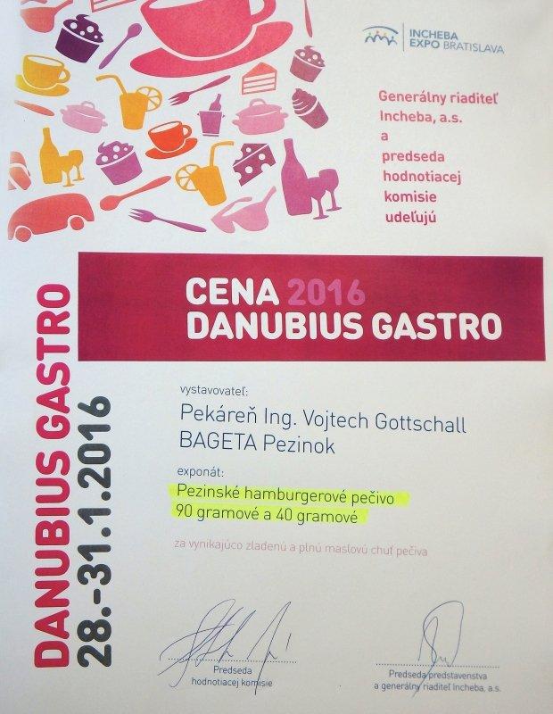 Vystava Danubius Gastro 2016 - Hamburgerove pecivo